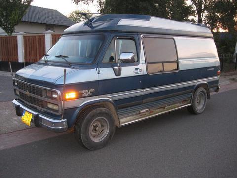 Chevrolet Chevy Van 20d globemaster